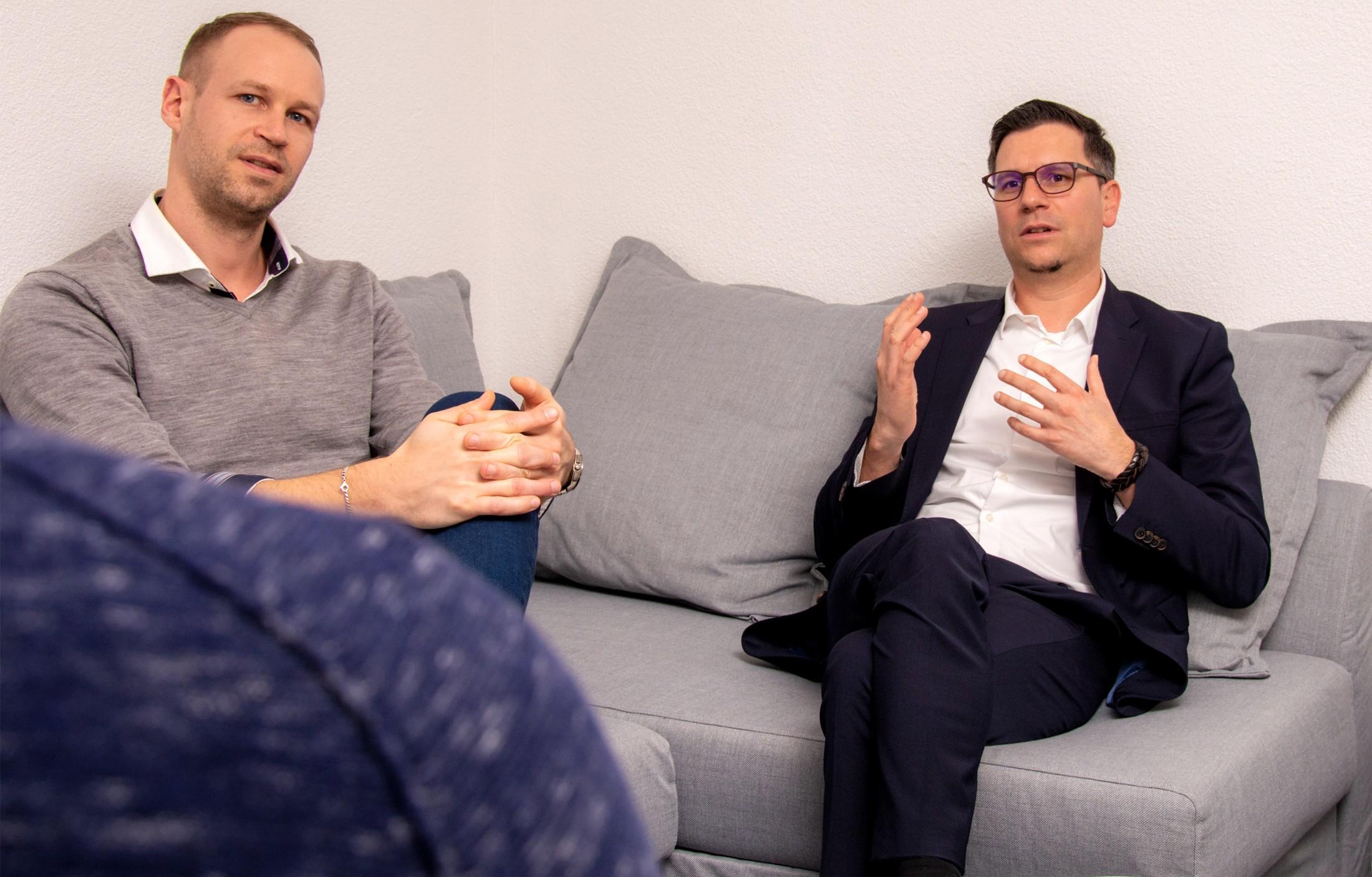 Interview mit André Fischer und Alexander Wicki, atedo AG